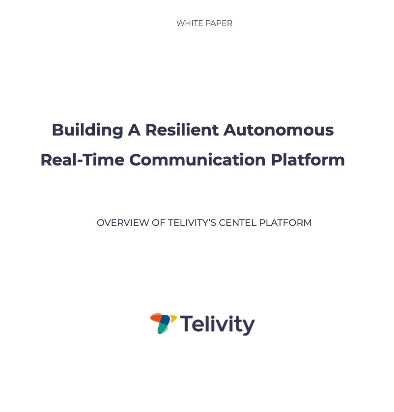 Telivity White Paper